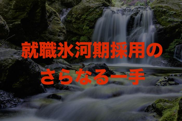 宝塚市の就職氷河期世代で落選者をどう活かすか